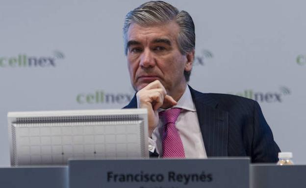 El presidente de Cellnex Telecom, Francisco Reynés.