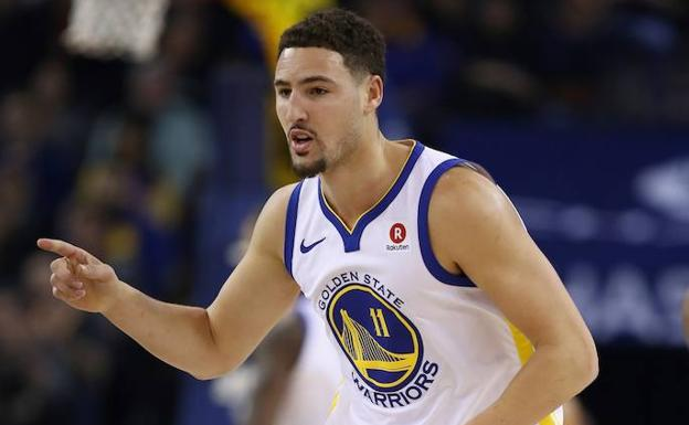 Klay Thompson./AFP