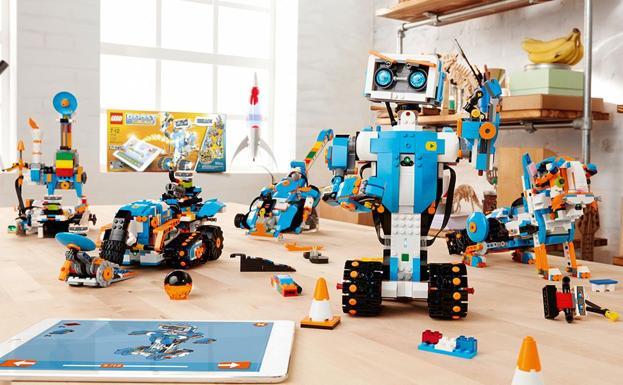 Una imagen del 'Lego Boost'./