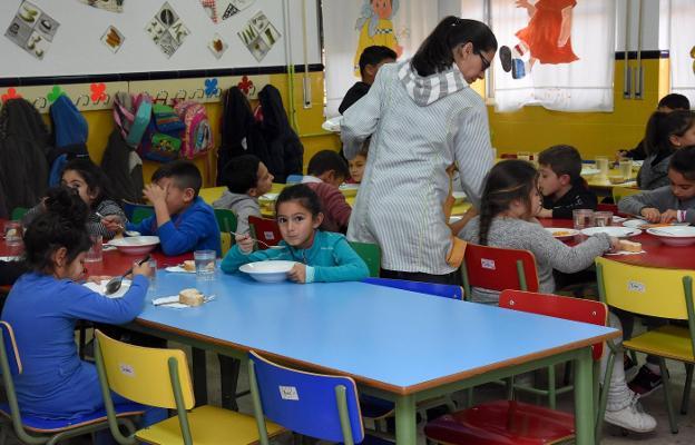 Todos los colegios públicos tendrán comedor escolar en el curso 2019 ...