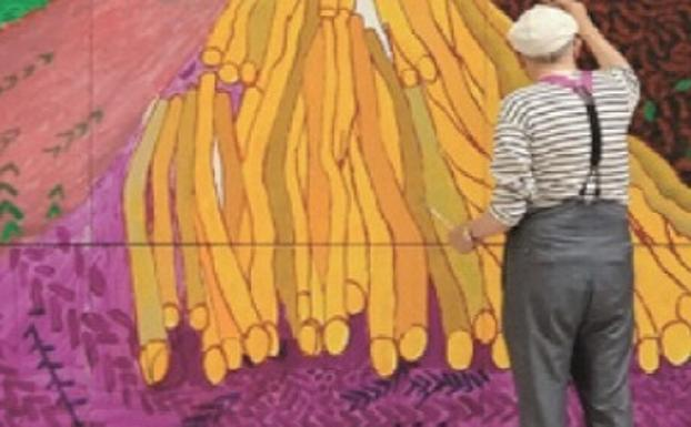 Proyección en Cáceres de un documental sobre el pintor David Hockney