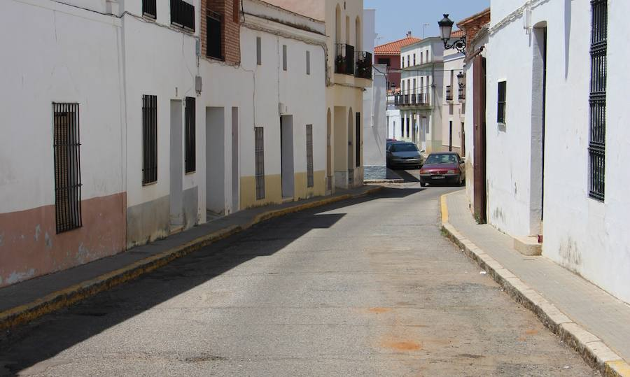 Calle Eugenio Frutos de Guareña.