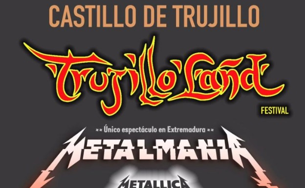 Cartel del 'Trujillo-Land Festival'