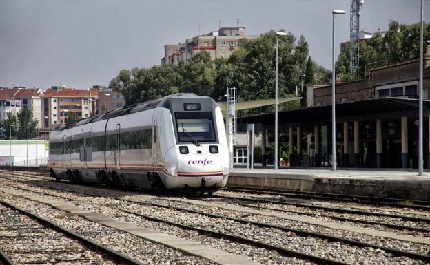 AVE Madrid-Cáceres