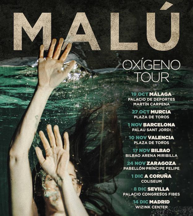 Malú estrena en su nueva gira un sistema de venta de