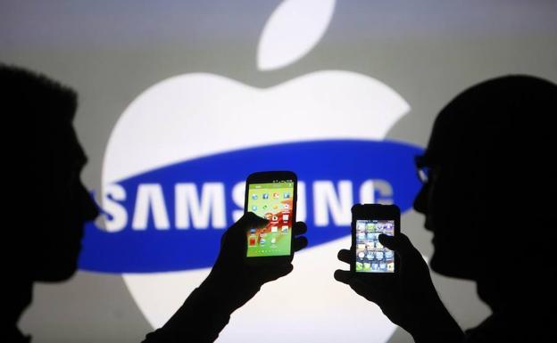5a49b387640 Samsung tendrá que pagar 583 millones a Apple por copia de patentes ...
