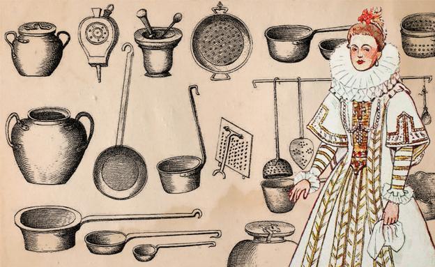 Menaje de cocina para marquesas y virreinas hoy for Utensilios alta cocina