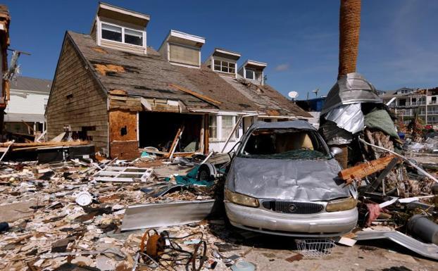 El Huracan Michael Deja El Norte De Florida Como Un Territorio De Guerra