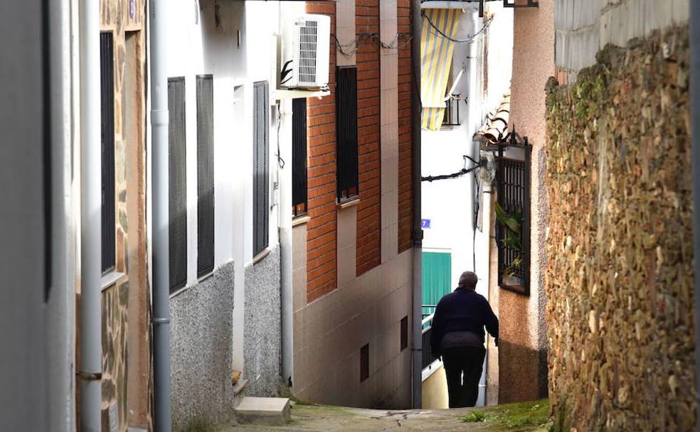 Paisaje rural del norte de la comunidad autónoma, la zona de Extremadura más afectada por la despoblación./HOY