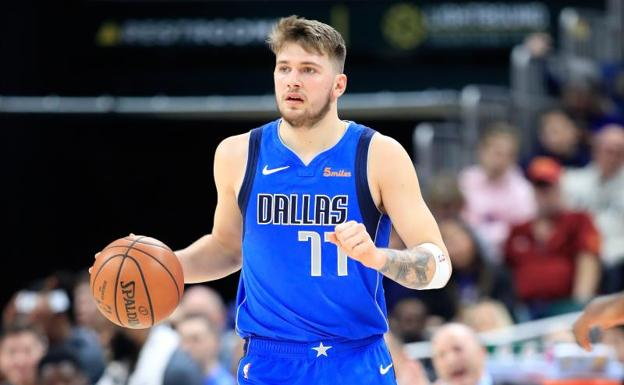 Luka Doncic. /Andy Lyons (Afp)