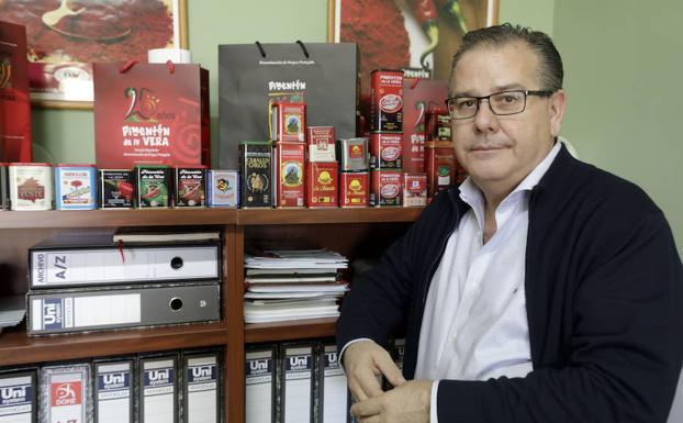 Bonifacio Sánchez, secretario técnico de la DO Pimentón de la Vera