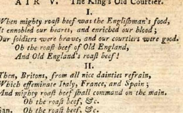 Canción de la escena VI, 'Don Quixote in England'. Cervantes Virtual.