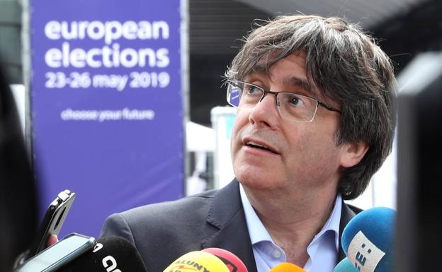 El expresident catalán, Carles Puigdemont./Reuters