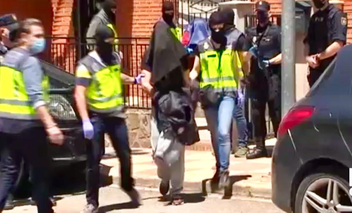 Momento de la detención./CMMedia
