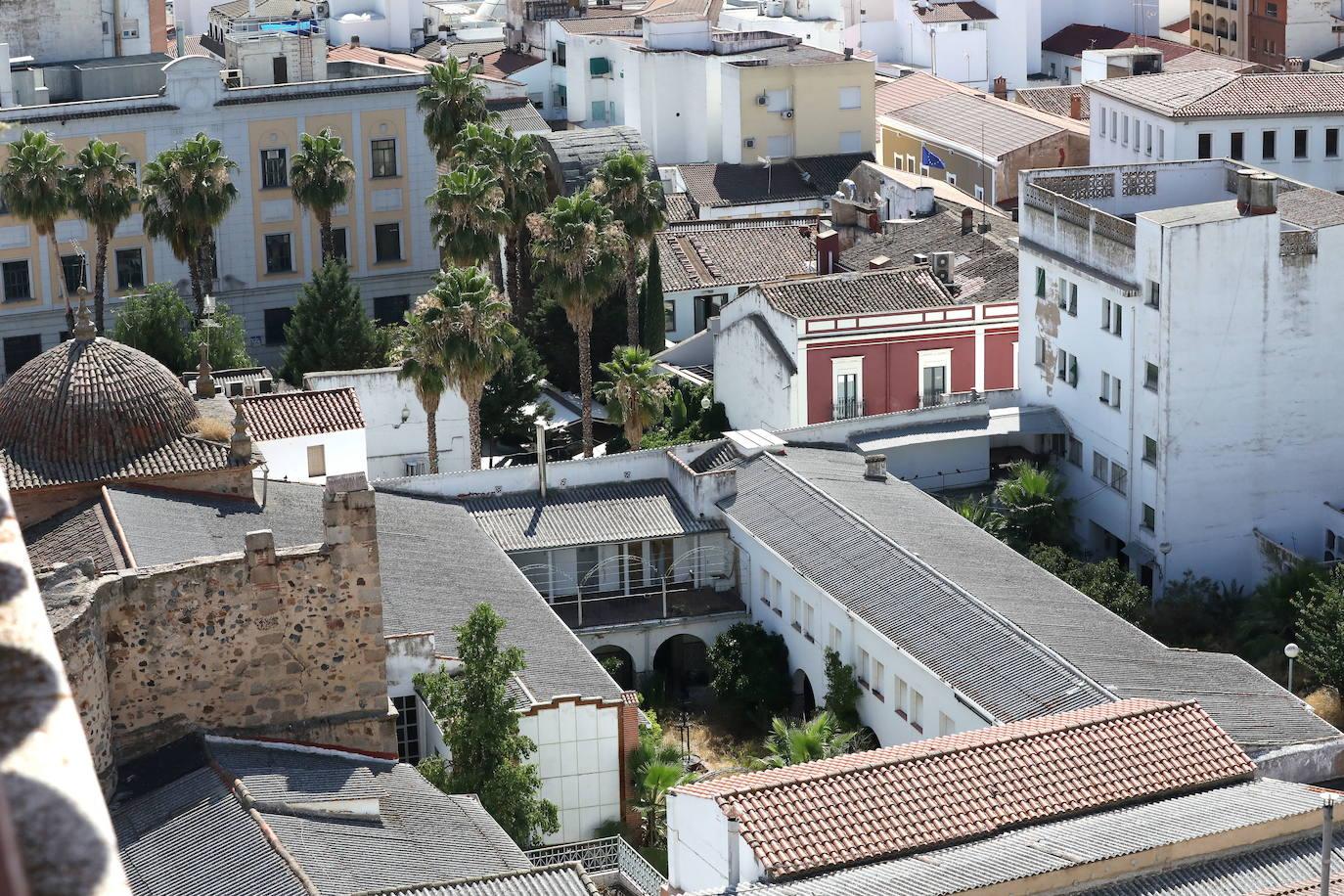 Convento de las Concepcionistas en Mérida, comprado por el Ayuntamiento el año pasado.