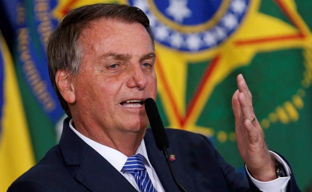 Jair Bolsonaro, Pangulo ng Brazil.  /