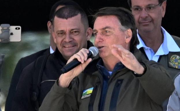 Pangulo ng Brazil na si Jair Bolsonaro./EFE