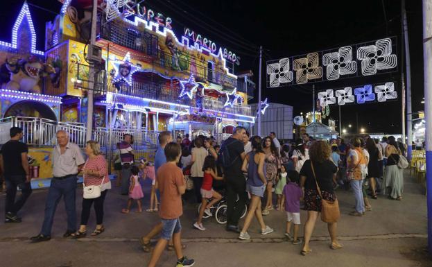 Emeritenses durante una pasada edición de la Feria de Mérida./HOY