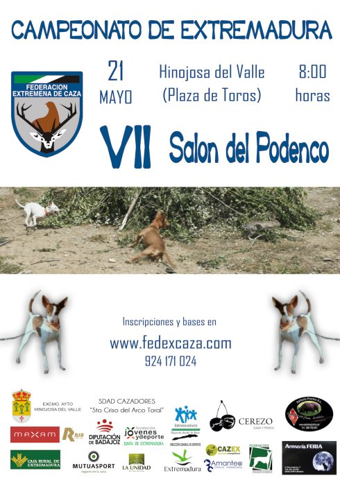Cartel del evento. :: FEDEXCAZA/